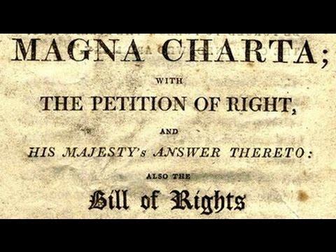 The Magna Carta 1215 AD (Full Text)