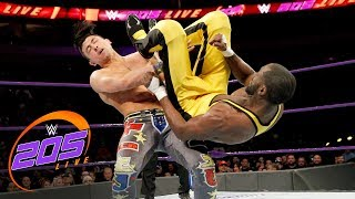 TJP vs. Kenneth Johnson: WWE 205 Live, March 20, 2018