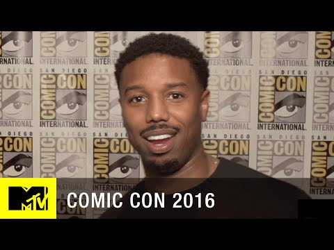 Michael B. Jordan Talks About Becoming a Bad Guy | Comic Con 2016 | MTV
