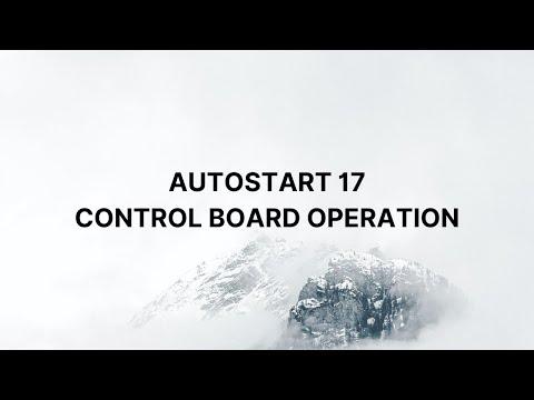 AutoStart 17 Control Board Operation