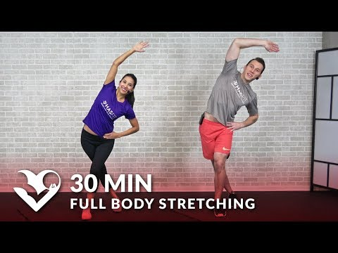 30 Minute Full Body Stretching Exercises How to Stretch to Improve Flexibility & Mobility Routine