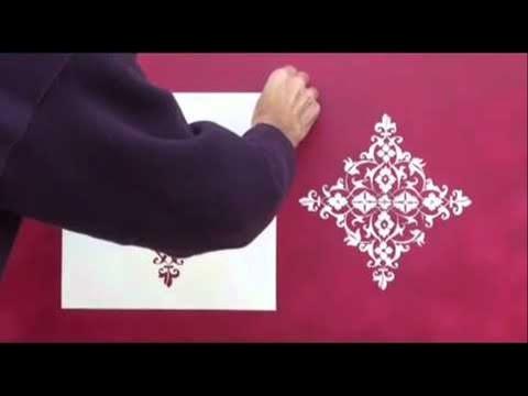 Curso Pinturas Especiais para Decoração  - Stencil
