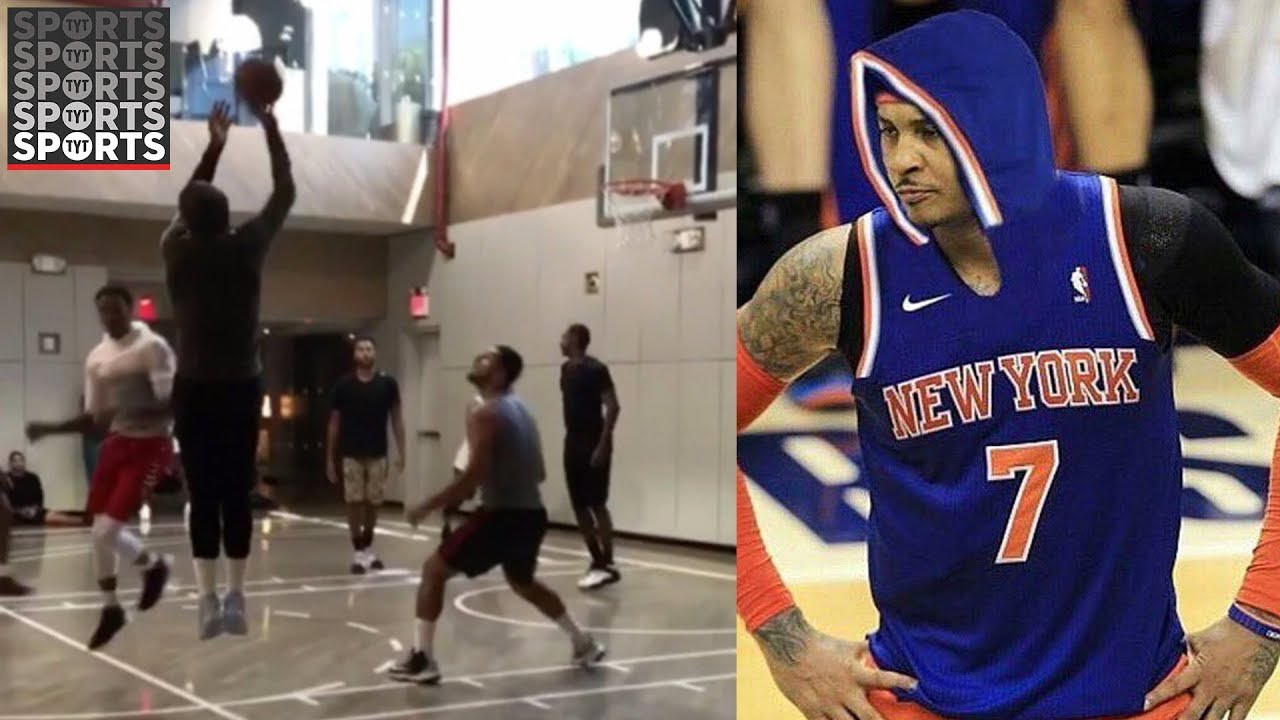 reputable site 926df fd25b Hoodie Melo is the Best Carmelo Anthony Out There [Even JR Smith Agrees]