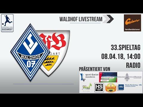 33.Spieltag: SV Waldhof - VfB Stuttgart II (Radio)