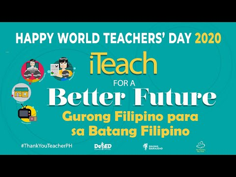 Happpy World Teachers Day 2020 Happy Teacher S Day Messages A Tribute To Gces Teachers Youtube