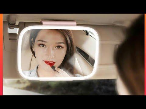 Car Sun Visor Mirror Auto Cosmetic Makeup Mirror