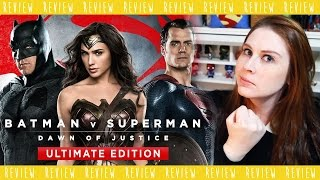 BATMAN V SUPERMAN ULTIMATE EDITION REVIEW!