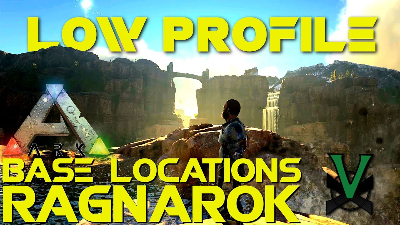 Low Profile PVP Base Locations! Hidden Without Caves! | Ragnarok | ARK:  Survival Evolved