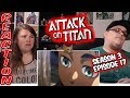 Attack on Titan 3x17 Episode 54 REACTION!!