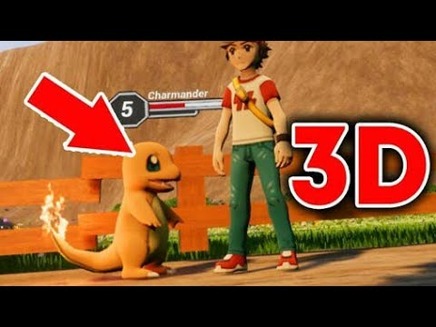 pokemon fire red 3d android apk