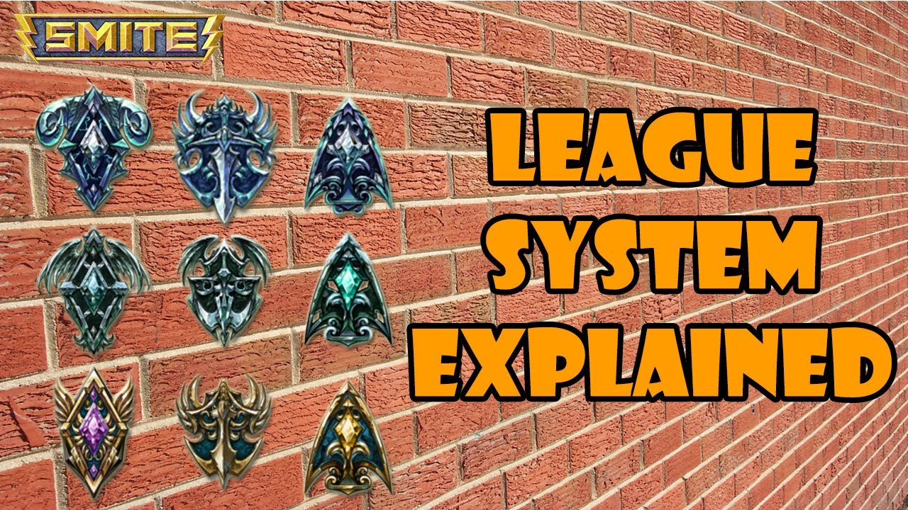 SMITE League System Guide - YouTube