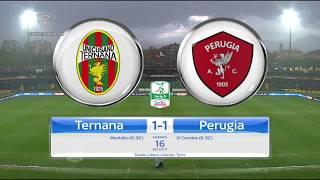 Ternana-Perugia 1-1, la sintesi