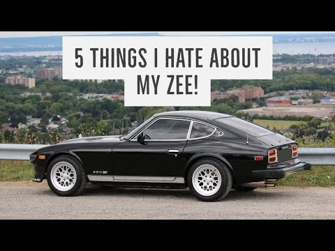 5 Things I Hate About My Datsun 280z