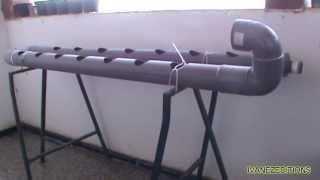 Como hacer un sistema hidropónico caser...