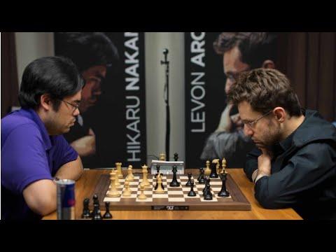 AMAZING DEFENSE!! Levon Aronian vs Hikaru Nakamura || Chess blitz 2020