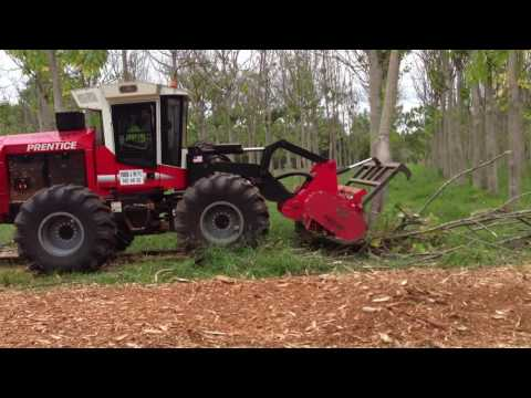 Prentice Forestry Mulcher - Parrish and Son