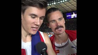 At just 17 years old Jakob Ingebrigtsen completes spectacular 1500m  5000m double !Berlin 2018