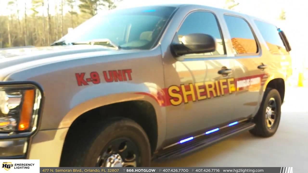 Douglas County Sheriff K9 Tahoe W HG2 Lighting Package YouTube