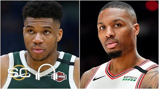 Damian Lillard worried about rules in the bubble and Giannis talks NBA Finals asterisk | SC with SVP