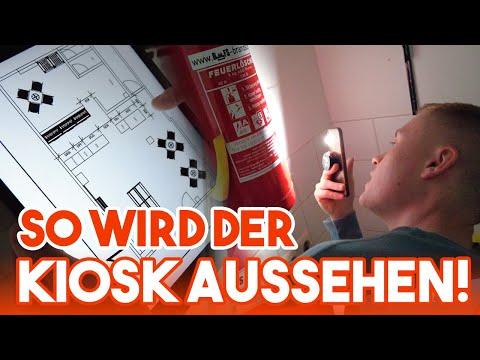 SO WIRD DER KIOSK AUSSEHEN!   DER KIOSK