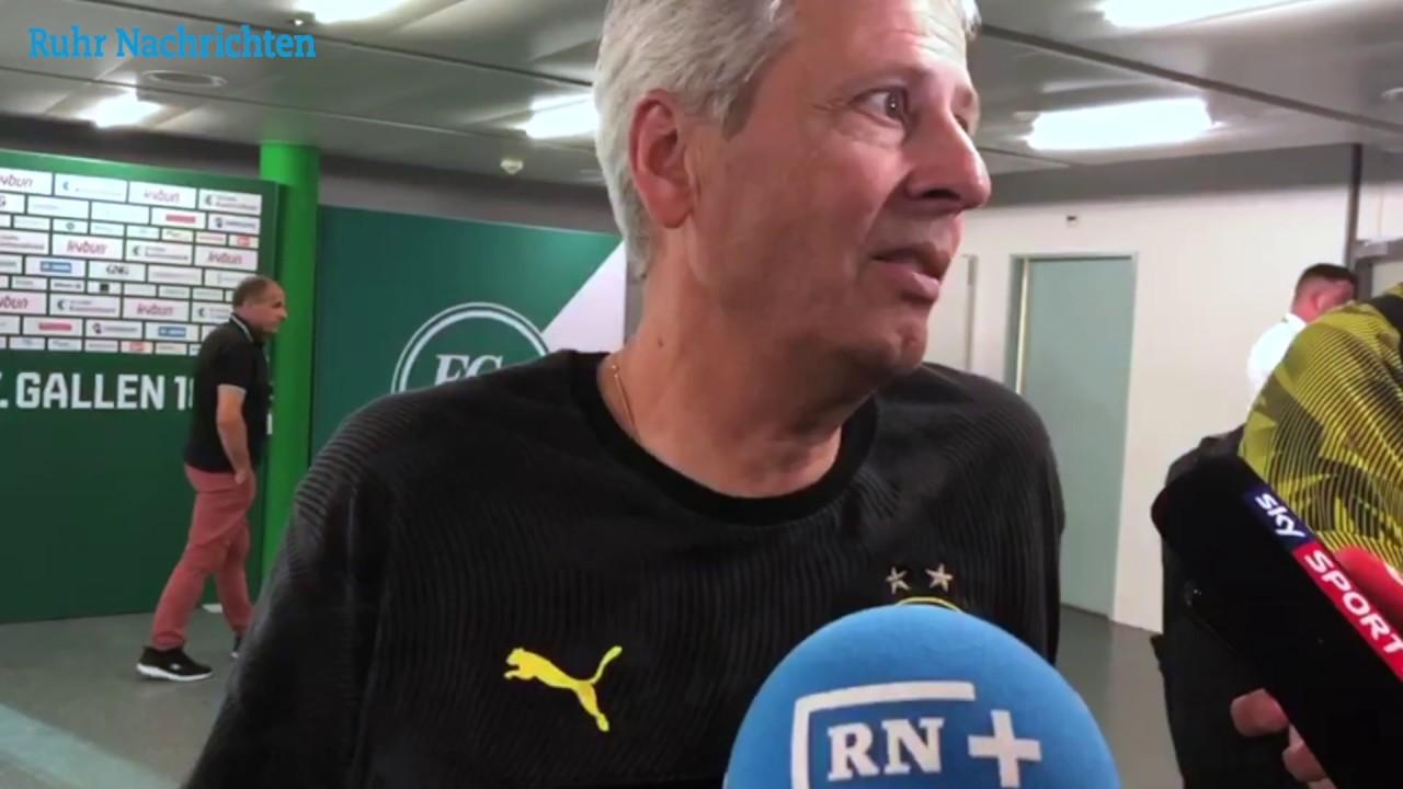 BVB-Trainer Favre über das 4:1 gegen St. Gallen