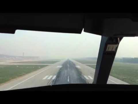 Landing at Beijing (PEK) on a good day...