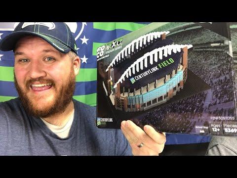 Brxlz NFL stadium, Seattle Seahawks Centurylink Field Building Update