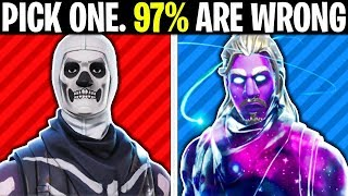 WHICH IS MORE EXPENSIVE? (FORTNITE TEST)