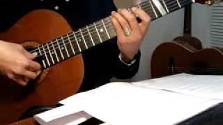 Tình Xưa. Nhạc và Lời: Lê Vinh Quang. Guitar Trémolo