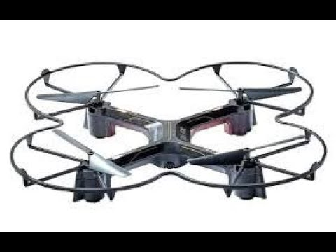 Sharper Image DX-4 Drone Unboxing and Review! - YouTube
