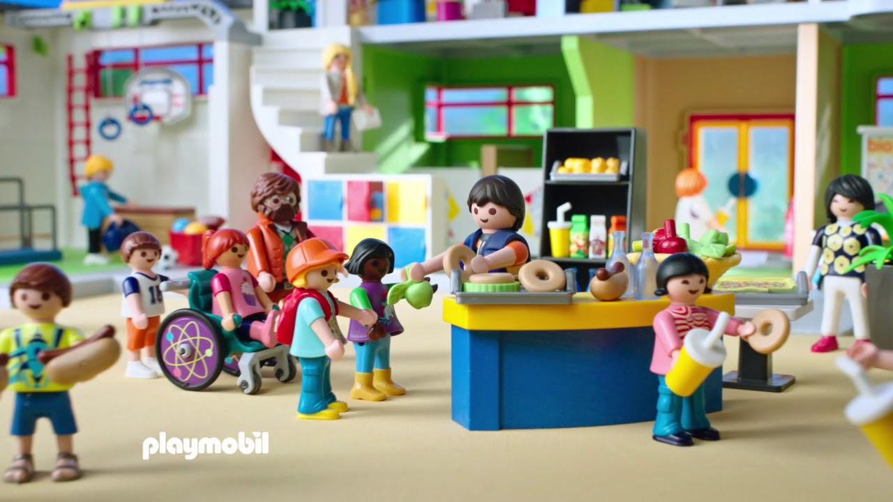 CITY LIFE: School   TV Spot   PLAYMOBIL België (Vlaams)