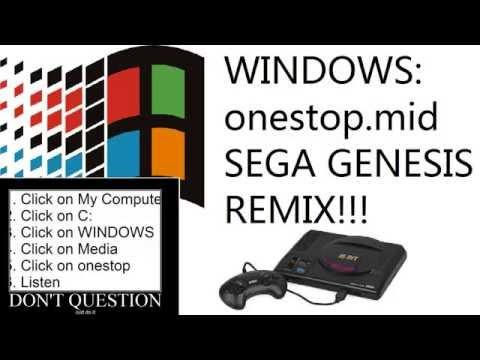 Windows - Onestop.mid: Sega Genesis Remix
