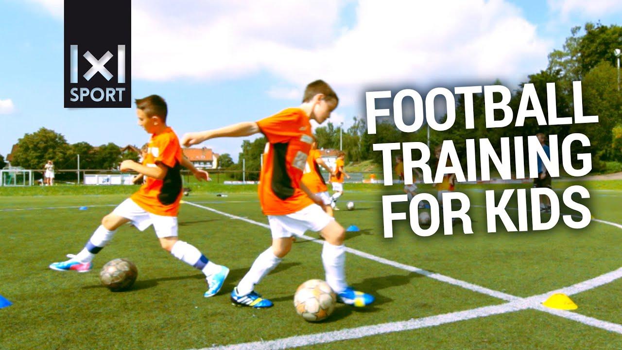 Football/ Soccer Training For Kids [TRAILER]