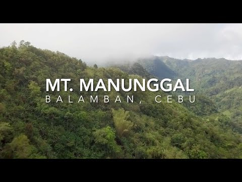 Hiking in the Philippines (Mt. Manunggal, Cebu, Philippines)