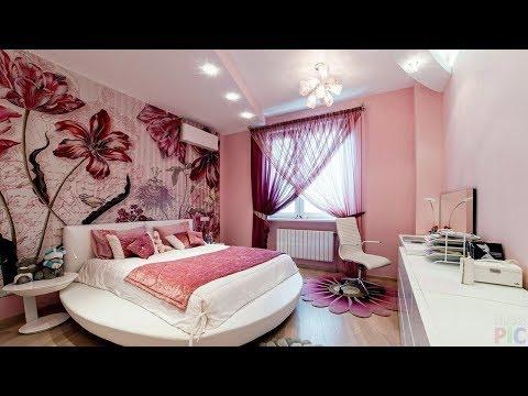 Дизайн Спальни - Обои с Цветами - 2018 / Design Bedrooms Wallpapers With Flowers