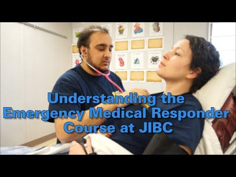 Emergency Medical Responder | Justice Institute of British Columbia