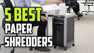 ☑️ Paper Shredder: 5 Best Paper Shredders In 2018 | Dotmart