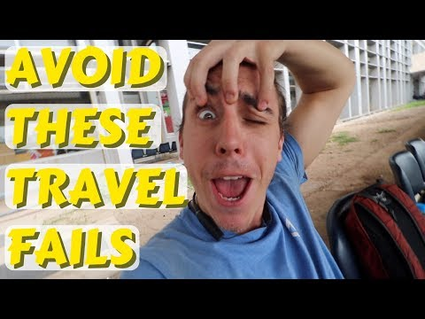 A day FULL of travel MISTAKES - Vlog Ep 4 - Laos to Thailand