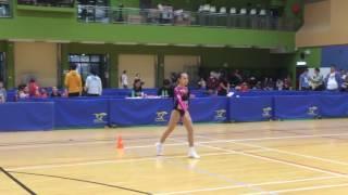 2016全港學界健美體操比賽-小學組冠軍:Chloe Mak