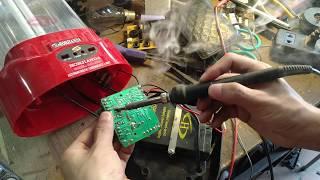 Mạch đèn tích điện không sáng và phân tích mạch đèn tích điện