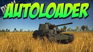 AUTOLOADER TANK In War Thunder - CHI-RI II (War Thunder Japanese Tank Gameplay)