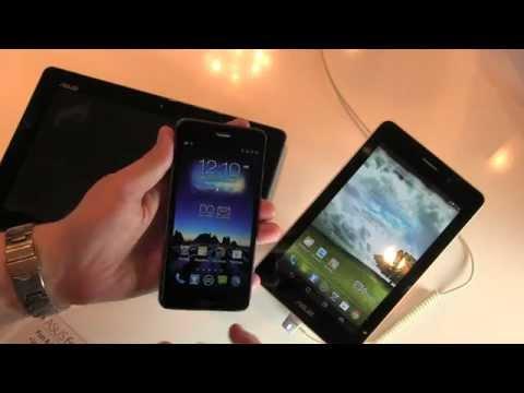 Asus PadFone Infinity und FonePad im Hands-On