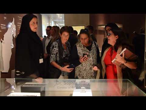 """Exhibition """"40 year of archaeological cooperation between the United Arab Emirates and France"""""""