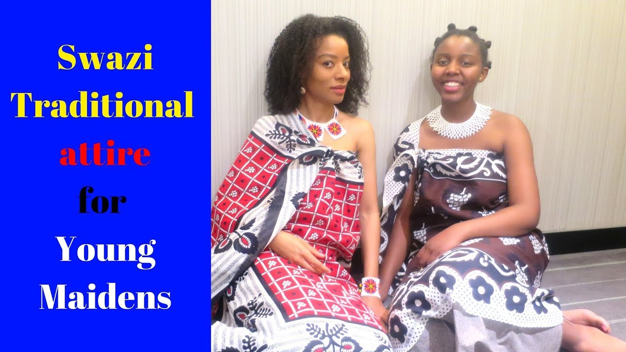 How To Wear Swazi Maiden Traditional Attire