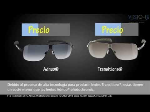 4495965b4e Lentes fotosensibles: Adnuo® vs. Transitions® VI - YouTube