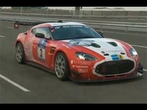Aston Martin Zagato race car video review