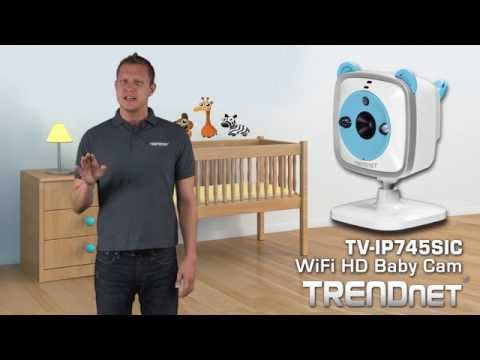 TRENDnet WiFi HD Baby Cam TV-IP745SIC