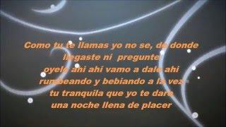 Hasta el amanecer - Nicky jam Lyrics/letra HD