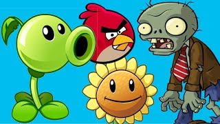 plants vs zombies online games episode angry birds vs green pig zombies leves 1 2 rovio games