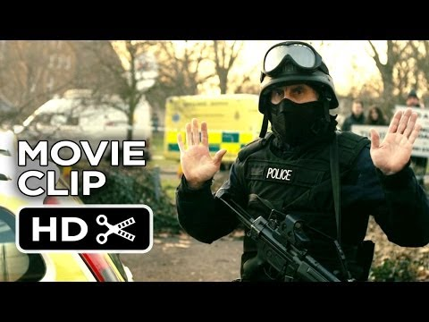 Alan Partridge Movie CLIP - Identify Yourself (2014) - Steve Coogan Movie HD